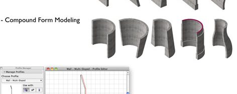Detailing Complex Forms Using Profile