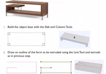 Custom Furniture in ARCHICAD