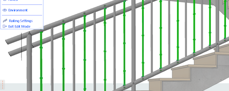 Creating a Custom Railing in ARCHICAD
