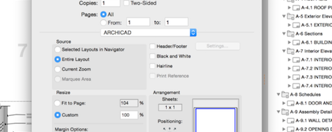 Setting Up for Printing and Publishing in ARCHICAD